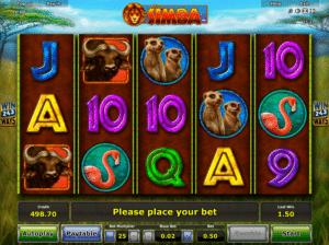 Jocul de cazino online African Simba gratuit