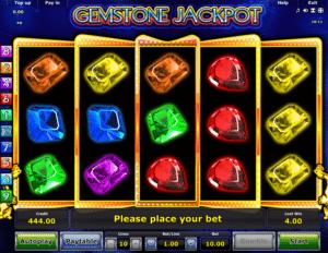 Joaca gratis pacanele Gemstone Jackpot online