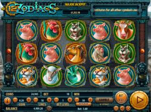 Jocul de cazino online 12 Zodiacs gratuit