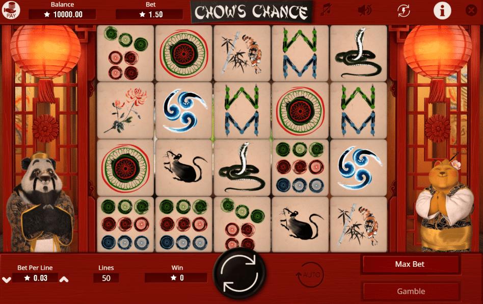 Joaca gratis pacanele Chow´s Chance online