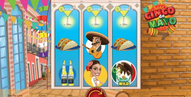 Joaca gratis pacanele Cinco de Mayo online