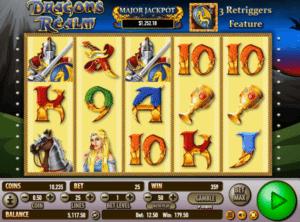 Jocuri Pacanele Dragon´s Realm Online Gratis