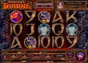 Jocul de cazino online Dragon´s Throne gratuit