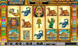 Joaca gratis pacanele Egyptian Dreams online