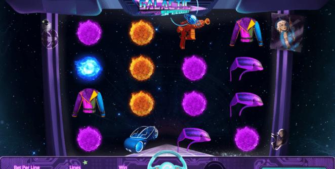 Jocul de cazino online Galactic Speedway gratuit