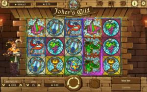 Joaca gratis pacanele Joker´s Wild Booming online