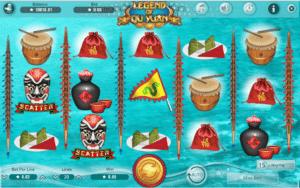 Joaca gratis pacanele Legend of Qu Yuan online