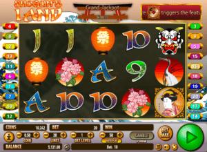 Joaca gratis pacanele Shogun´s Land online