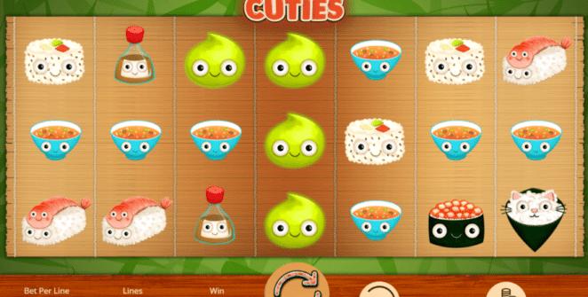 Joaca gratis pacanele Sushi Cuties online