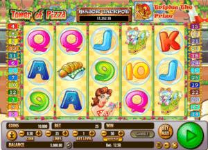 Joaca gratis pacanele Tower of Pizza online