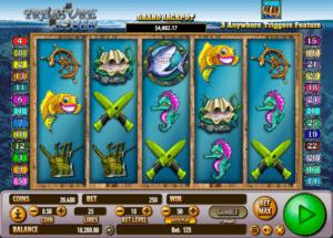 Treasure Diver gratis joc ca la aparate online