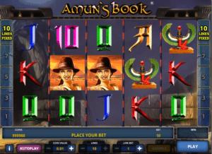 Amun´s Book gratis joc ca la aparate online