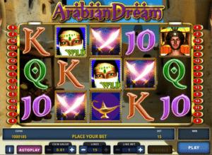 Jocuri Pacanele Arabian Dream Online Gratis