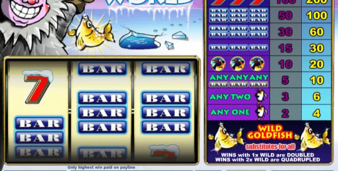 Joaca gratis pacanele Arctic World online