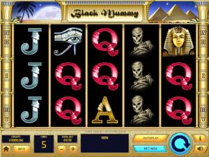 Black Mummy gratis joc ca la aparate online