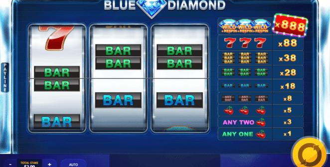 Blue Diamond gratis joc ca la aparate online