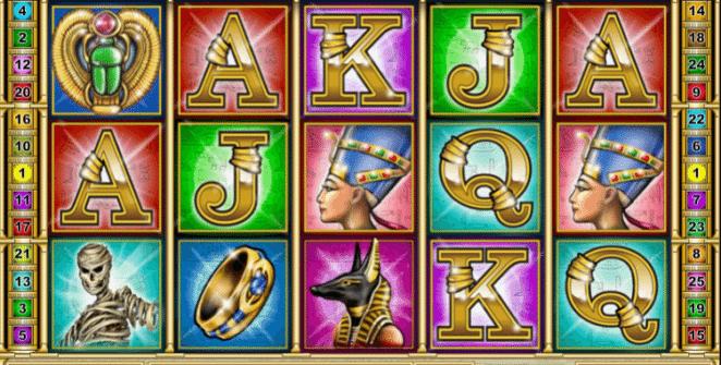 Joaca gratis pacanele Cleopatra´s Secret TH online