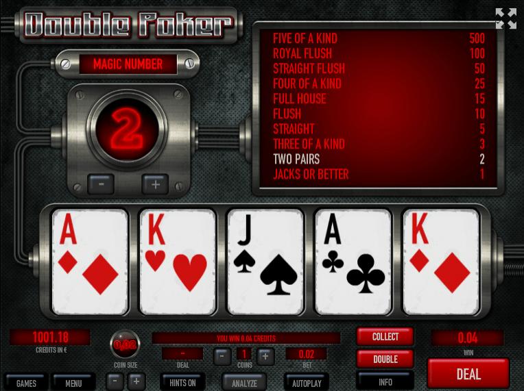 Poker ca la aparate 2 gratis