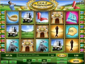 Joaca gratis pacanele Golf Championship online