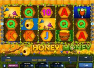 Jocuri Pacanele Honey Money Online Gratis