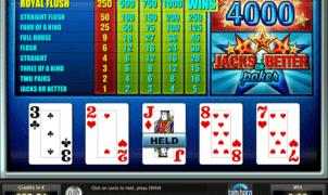 Jocul de cazino online Jacks or Better Tom Horn gratuit