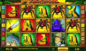Joaca gratis pacanele Jungle Adventure online