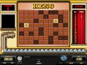 Jocul de cazino online Keno TH gratuit