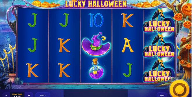 Lucky Halloween gratis joc ca la aparate online