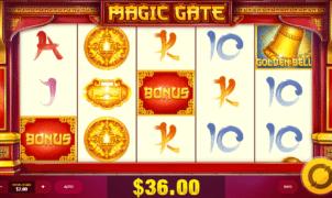 Joaca gratis pacanele Magic Gate online