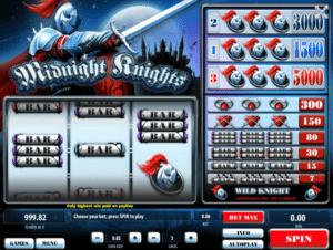 Jocul de cazino online Midnight Knights gratuit