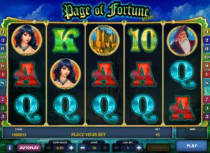 Jocuri Pacanele Page of Fortune Deluxe Online Gratis