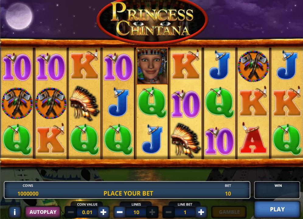 Jocul de cazino online Princess Chintana gratuit