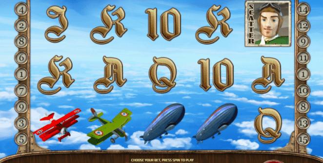Joaca gratis pacanele Sky Barons online
