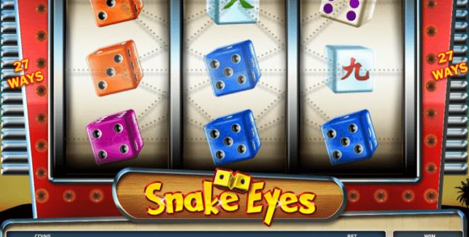 Snake Eyes gratis joc ca la aparate online