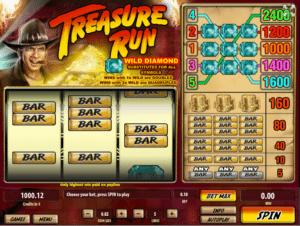 Jocul de cazino online Treasure Run gratuit