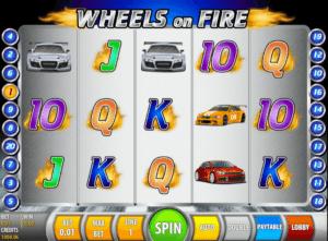 Wheels on Fire gratis joc ca la aparate online