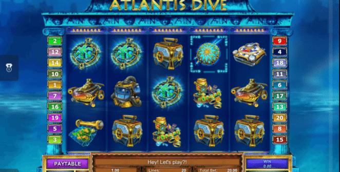 Atlantis Dive gratis joc ca la aparate online