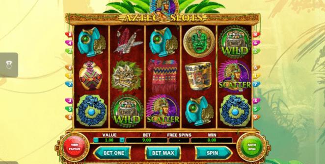 Jocuri Pacanele Aztec Slots Online Gratis