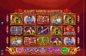 Jocul de cazino online East Wind Battle gratuit