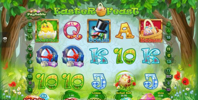 Joaca gratis pacanele Easter Feast online