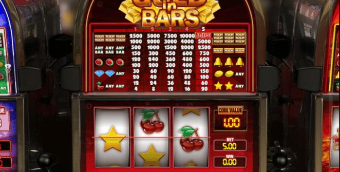 Joaca gratis pacanele Gold in Bars online