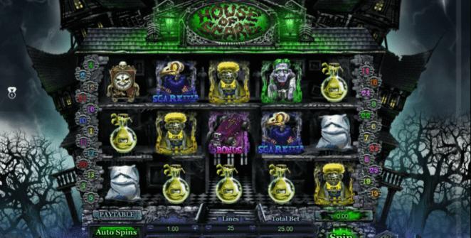 Jocul de cazino online House of Scare gratuit