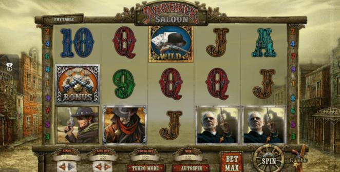 Jocul de cazino online Maverick Saloon gratuit