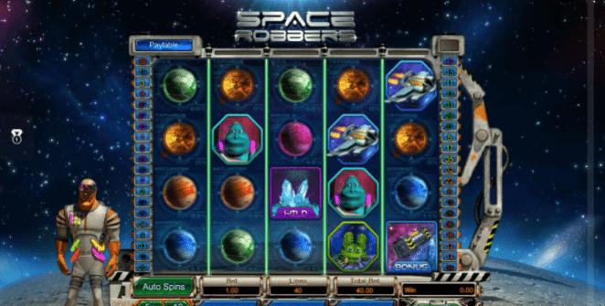 Space Robbers gratis joc ca la aparate online