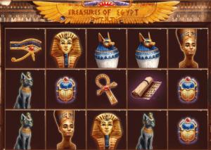 Jocuri Pacanele Treasures of Egypt Online Gratis