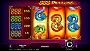 Joaca gratis pacanele 888 Dragons online