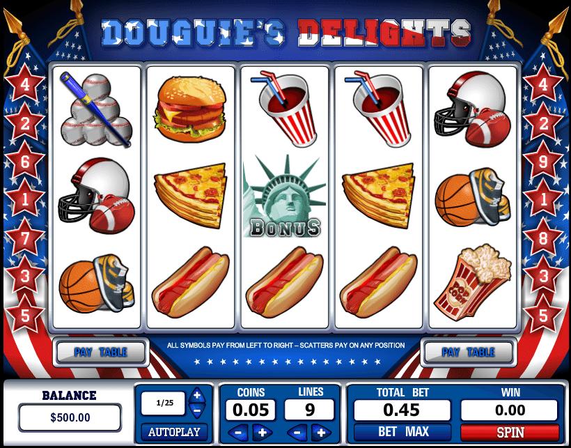 Douguies Delights gratis joc ca la aparate online