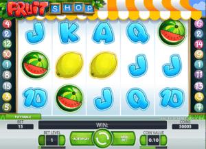 Jocuri Pacanele Fruit Shop Online Gratis