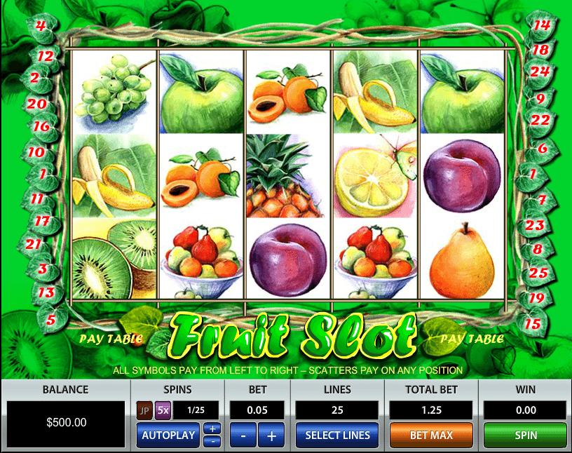 Jocul de cazino online Fruit Slot gratuit