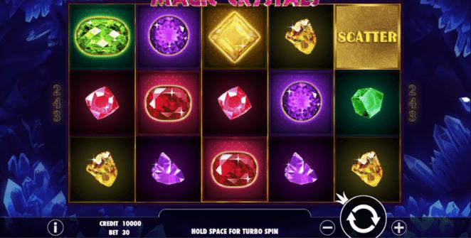 Jocul de cazino online Magic Crystals gratuit